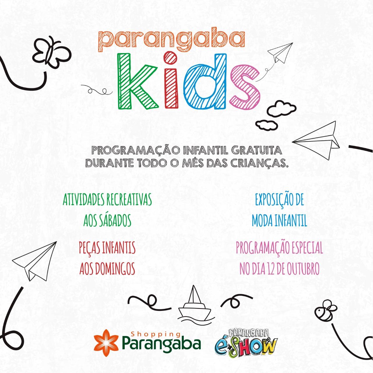 9777b6f39d Parangaba Kids oferece atrações gratuitas durante todo o mês de ...