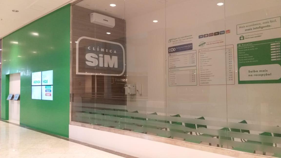 ... sucesso de público, a Clínica SIM, a maior plataforma de saúde do  Nordeste, entrega nesse mês de Novembro a expansão da sua unidade no Via  Sul Shopping ... cbc7f248ce