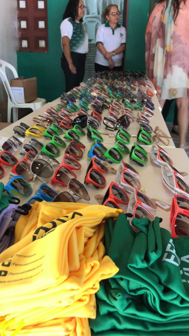 Para comemorar o Dia Nacional do Deficiente Visual – 13 de dezembro, a  grife de óculos cearense, Ferrovia Eyewear, fará uma doação de óculos para  ... 537cfe494a