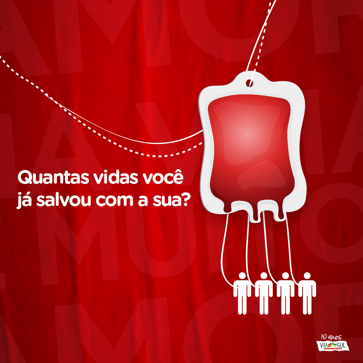 84cdd8064 Via Sul Shopping organiza ação de doação de sangue de quinta a sábado