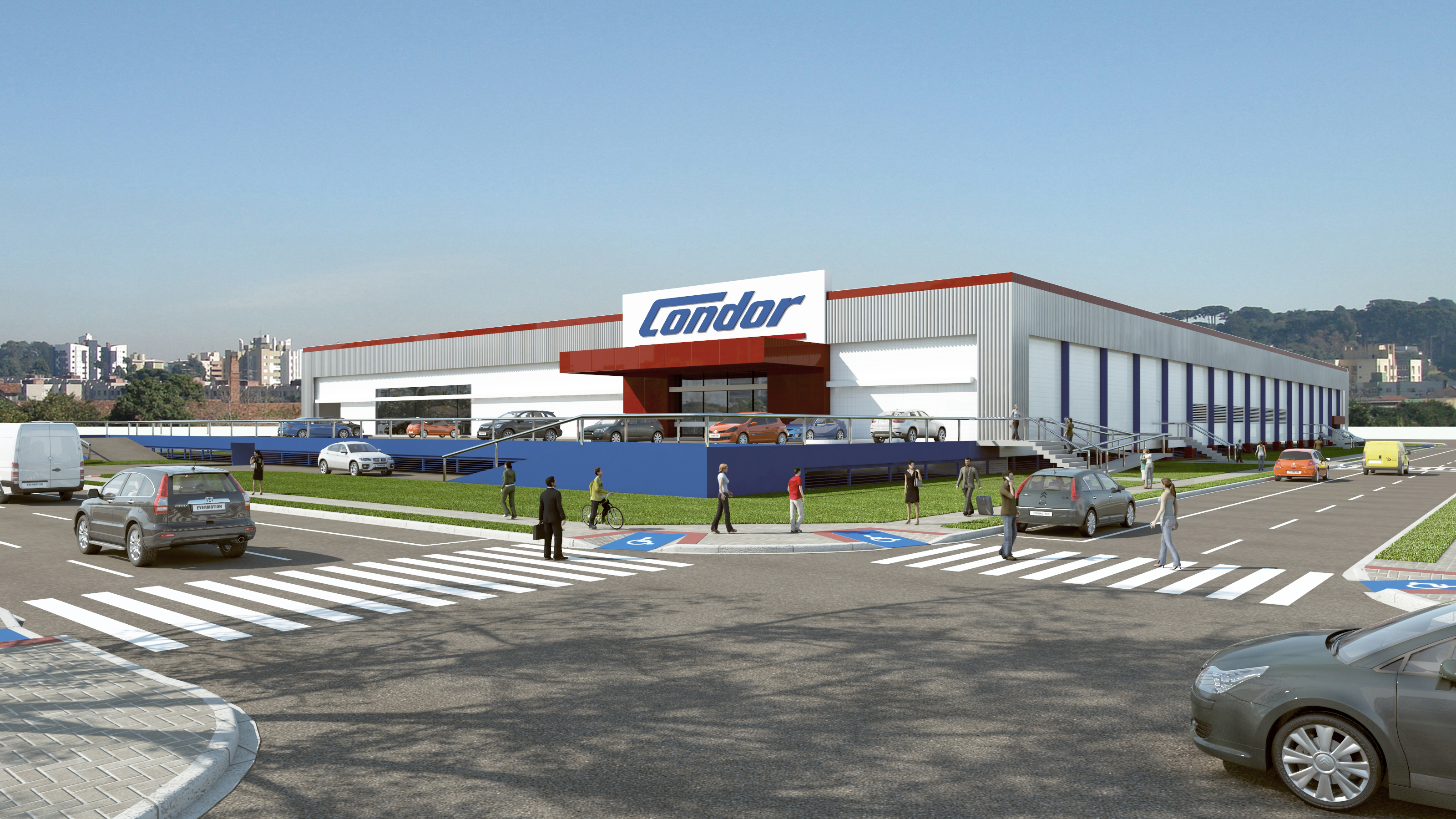 23db12ef7 Condor inaugura supermercado com tecnologia inédita na América do Sul