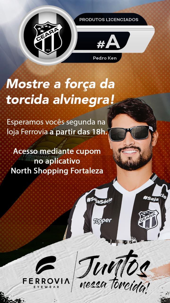 4ac6403ff A Ferrovia Eyewear receberá nesta segunda-feira (06), em sua loja do North  Shopping Fortaleza, os jogadores do Ceará Sporting Clube para mais um  evento de ...