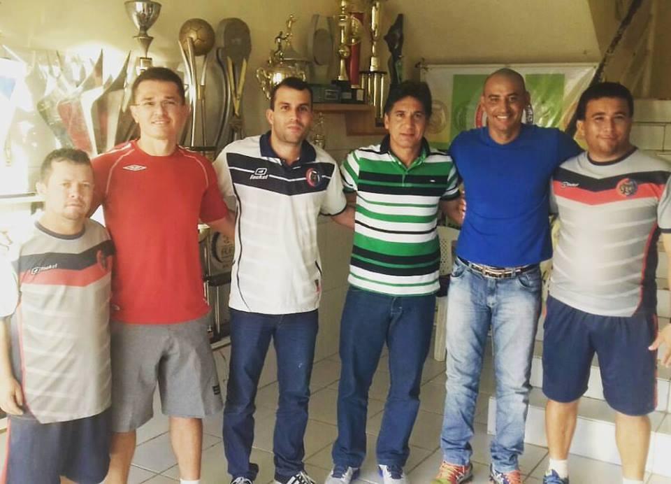 Nova comissão técnica do Tiradentes. Foto: Reprodução/ Tiradentes