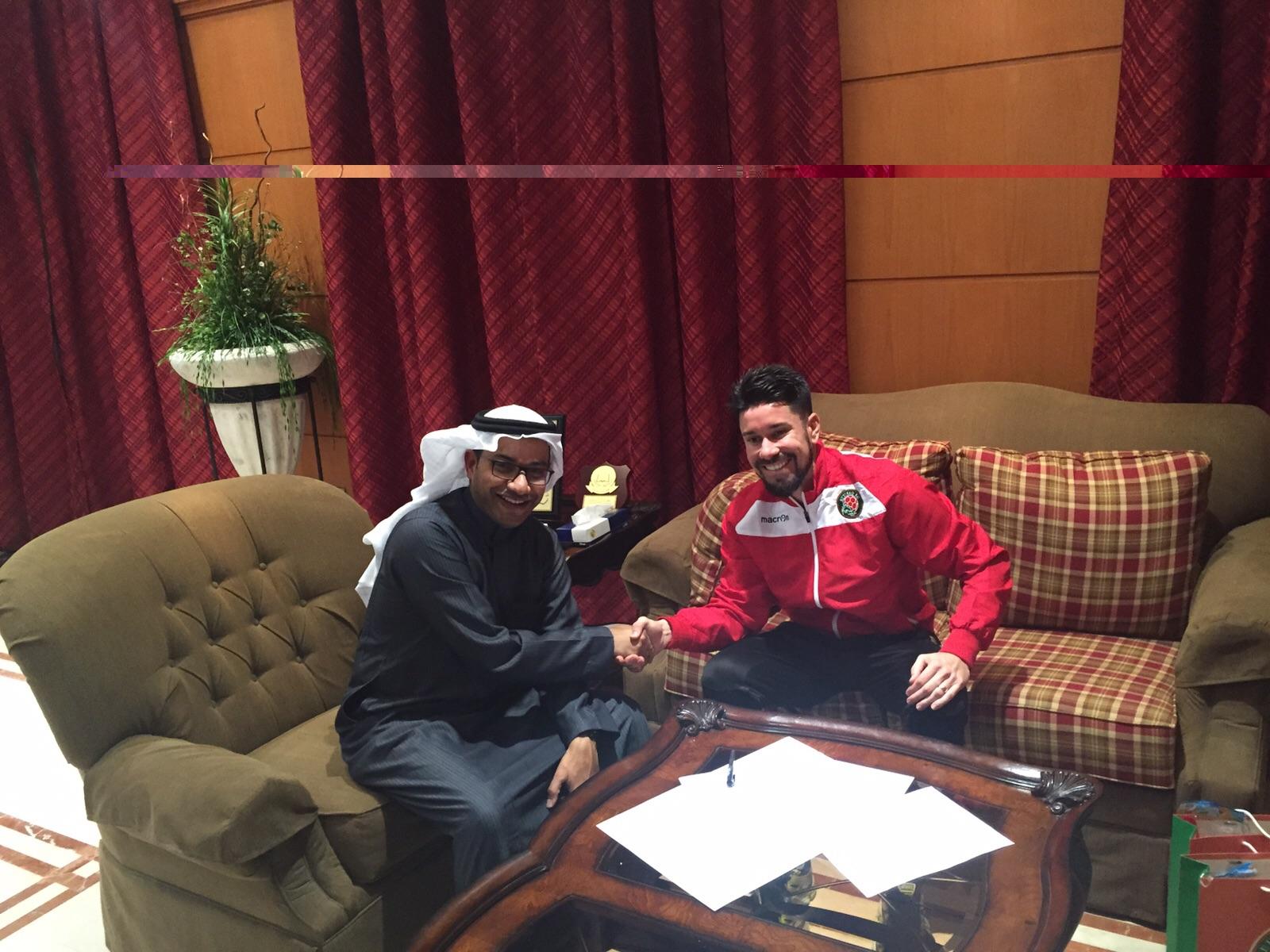 No final de 2015, Ricardinho se transferiu para a Arábia Saudita. Foto:Eduardo Madeira/Arquivo Pessoal