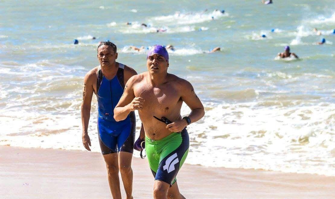 Felipe Gonçalves resolveu se aventurar no triathlon (FOTO: Ale Machado)