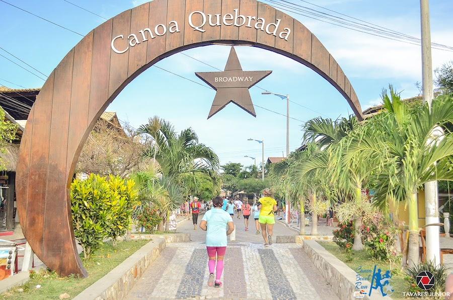 Prova passou pelos principais pontos turísticos de Canoa Quebrada. (FOTO: Tavares Júnior Photography)