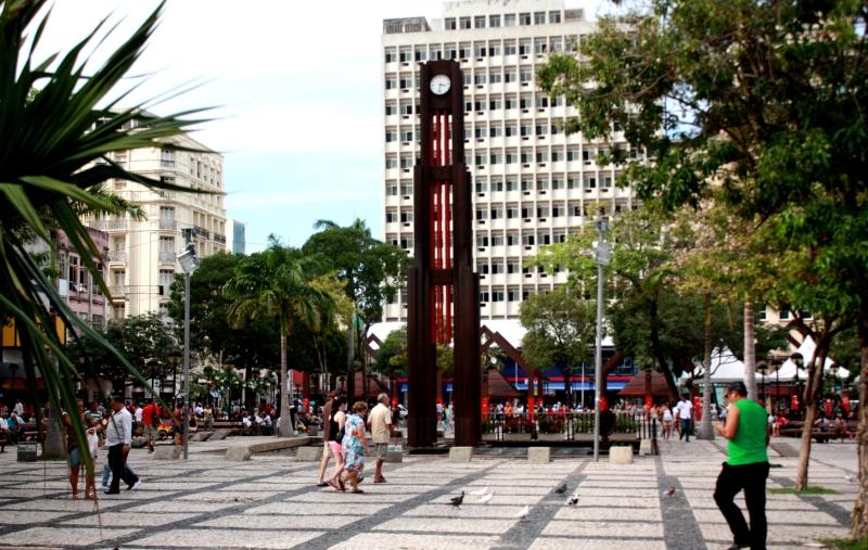 Evento acontece na Praça do Ferreira (FOTO: Camila Cabral)