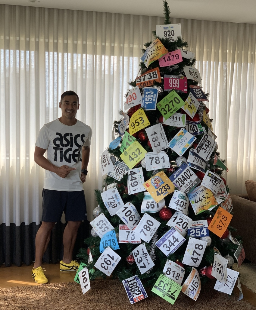 Árvore de Natal de Daniel Kuriu (FOTO: Arquivo pessoal)