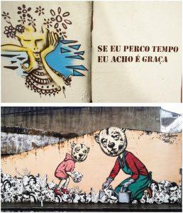 Livro de rua e Alto contraste