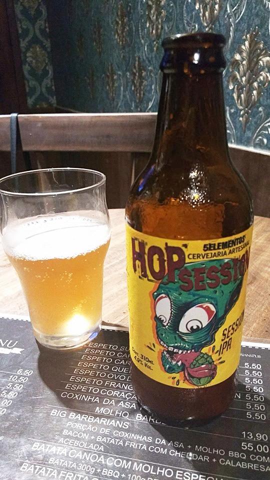 Hopsession Session, uma Ipa da 5 elementos