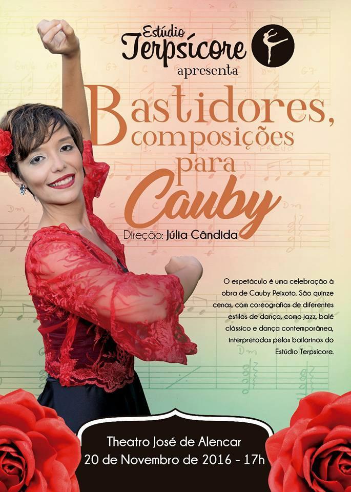 """Espetáculo """"Bastidores, composições para Cauby"""" será apresentado no TJA."""
