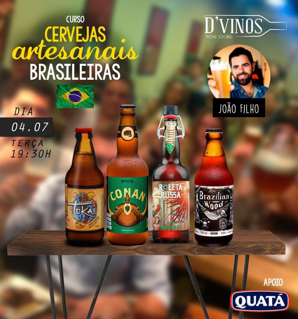 Curso de Cervejas Artesanais Brasileiras