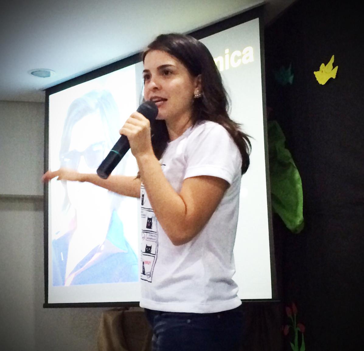 A jornalista Verônica Machado apostou nos seus projetos e se deu bem
