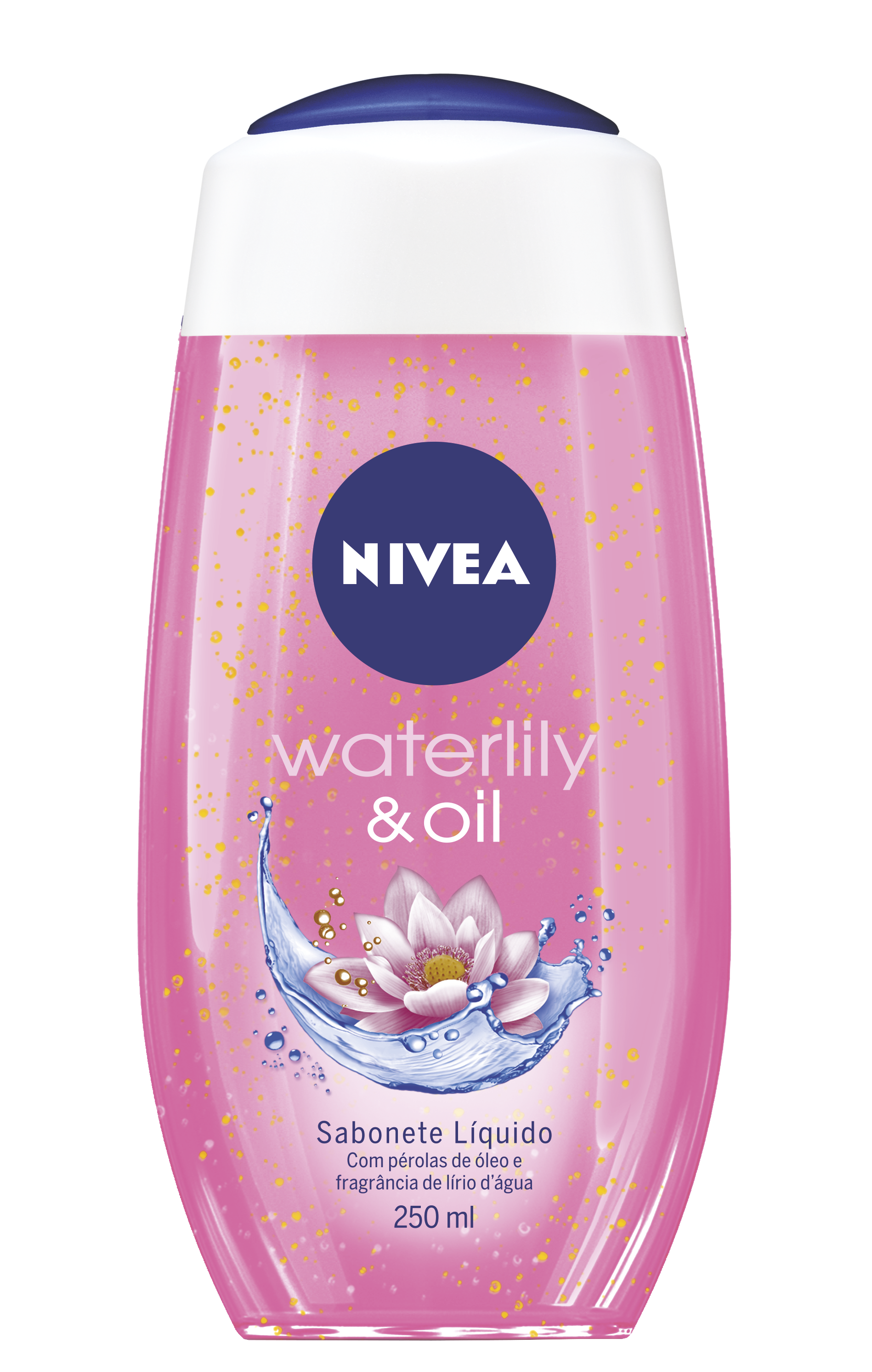 NIVEA_SABONETE LIQUIDO Waterlily & Oil - 250ML
