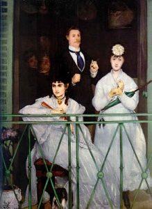 A Varanda, de Manet (1868)