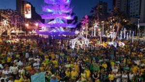 Manifestantes em Fortaleza em apoio à Lava Jato. Foto: Instituto Democracia e Ética
