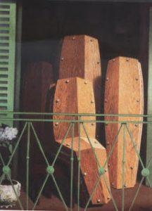 O Balcão de Manet, de Margritte (1950)