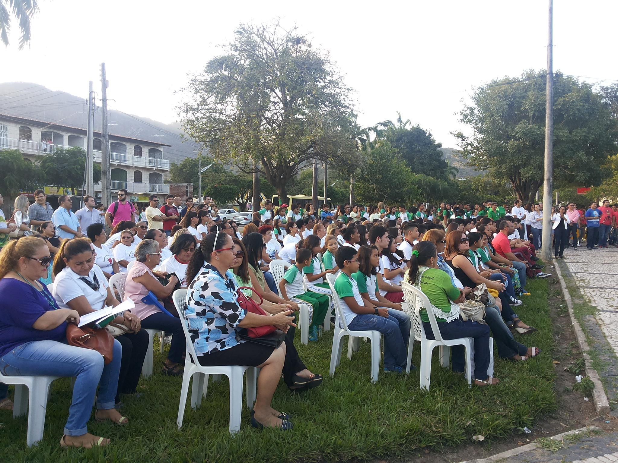 Abertura da Semana da Pátria em Maranguape. Arquivo Dadynha Saturnino