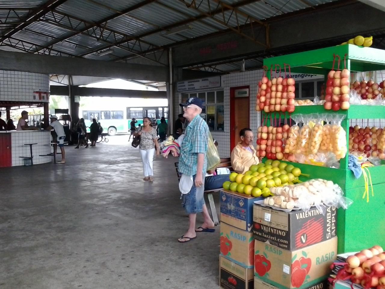 Rodoviária de Maranguape. Foto Dadynha Saturnino