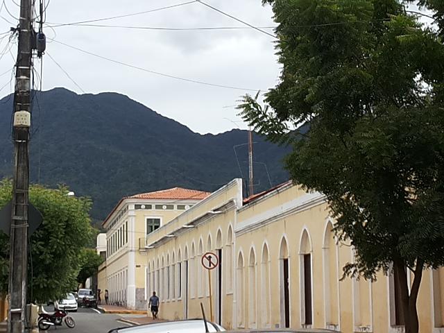 Lateral da Sociedade Artística Maranguapense. Foto Dadynha Saturnino