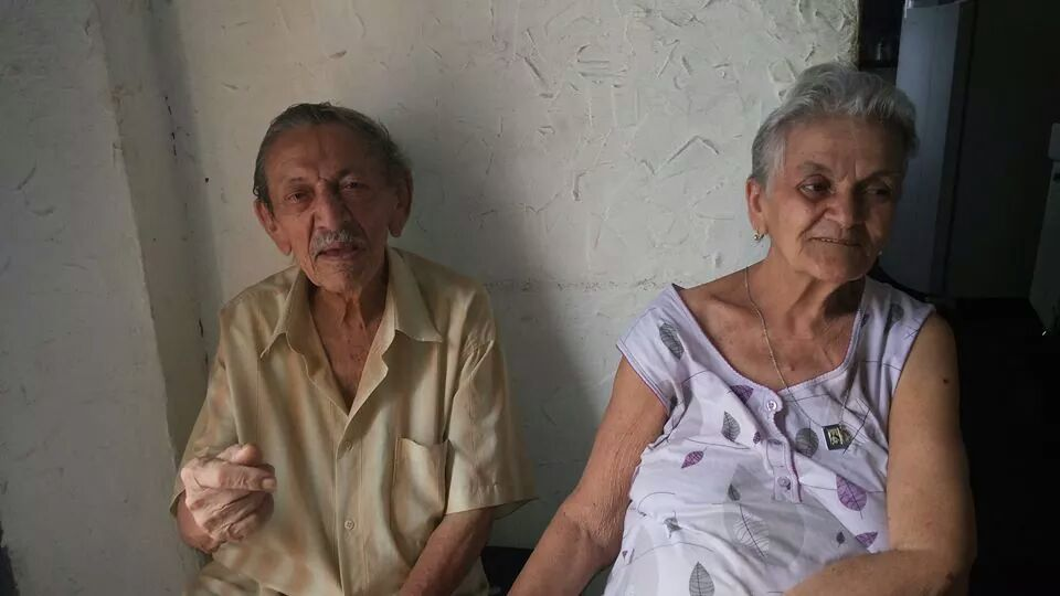 Casal Façanha: Jaime (im) e Helena. Foto Dadynha Saturnino