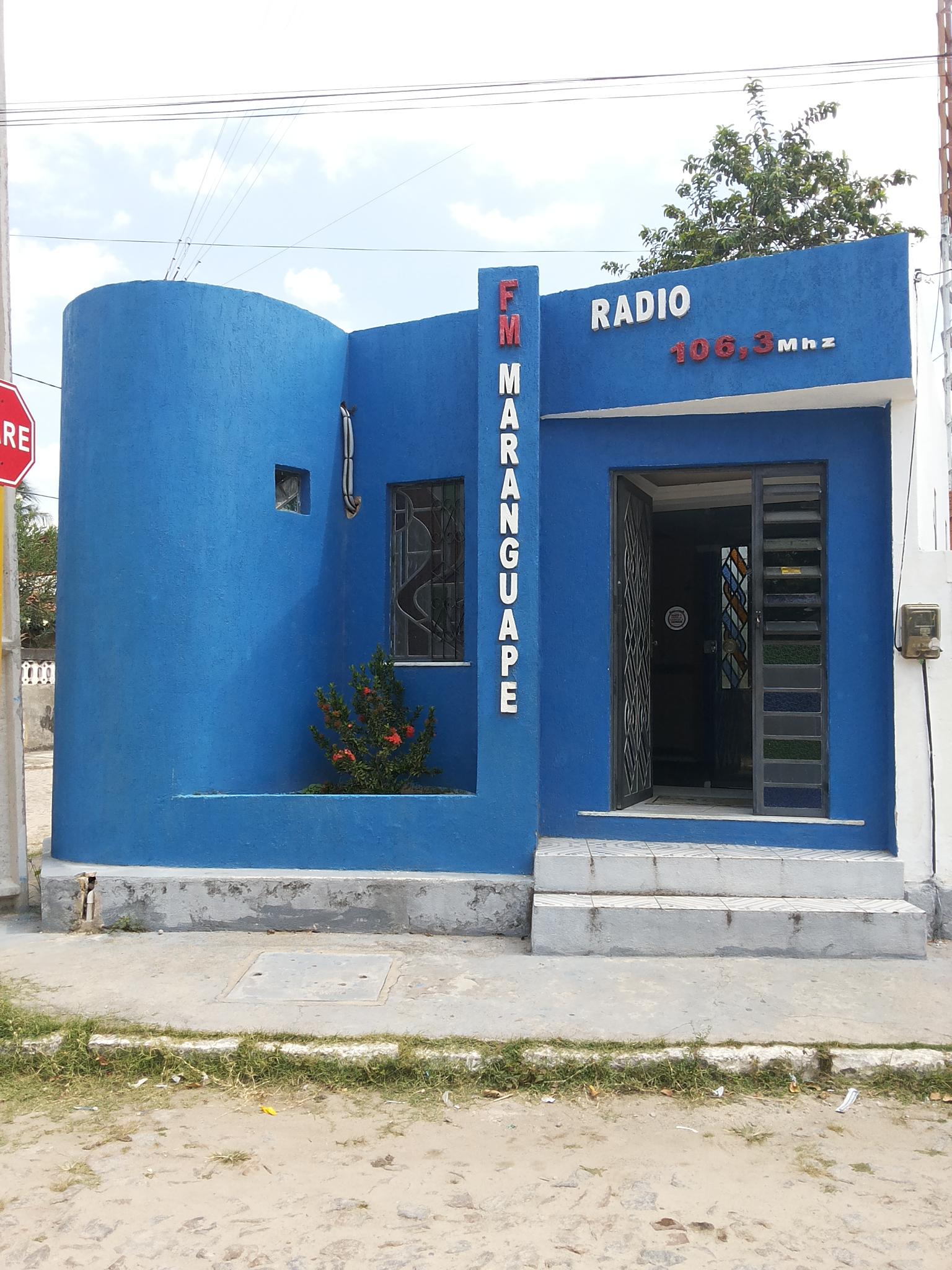 Rádio Maranguape FM. Foto Dadynha Saturnino