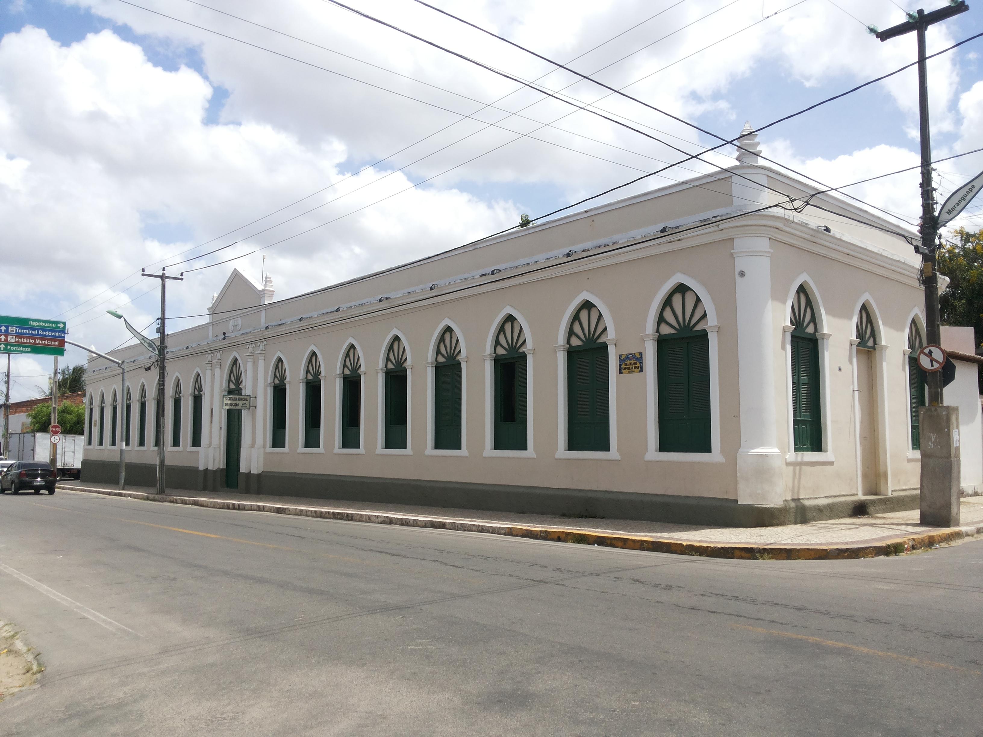 Casarão onde funcionou a Prefeitura de Maranguape. Foto Dadynha Saturnino