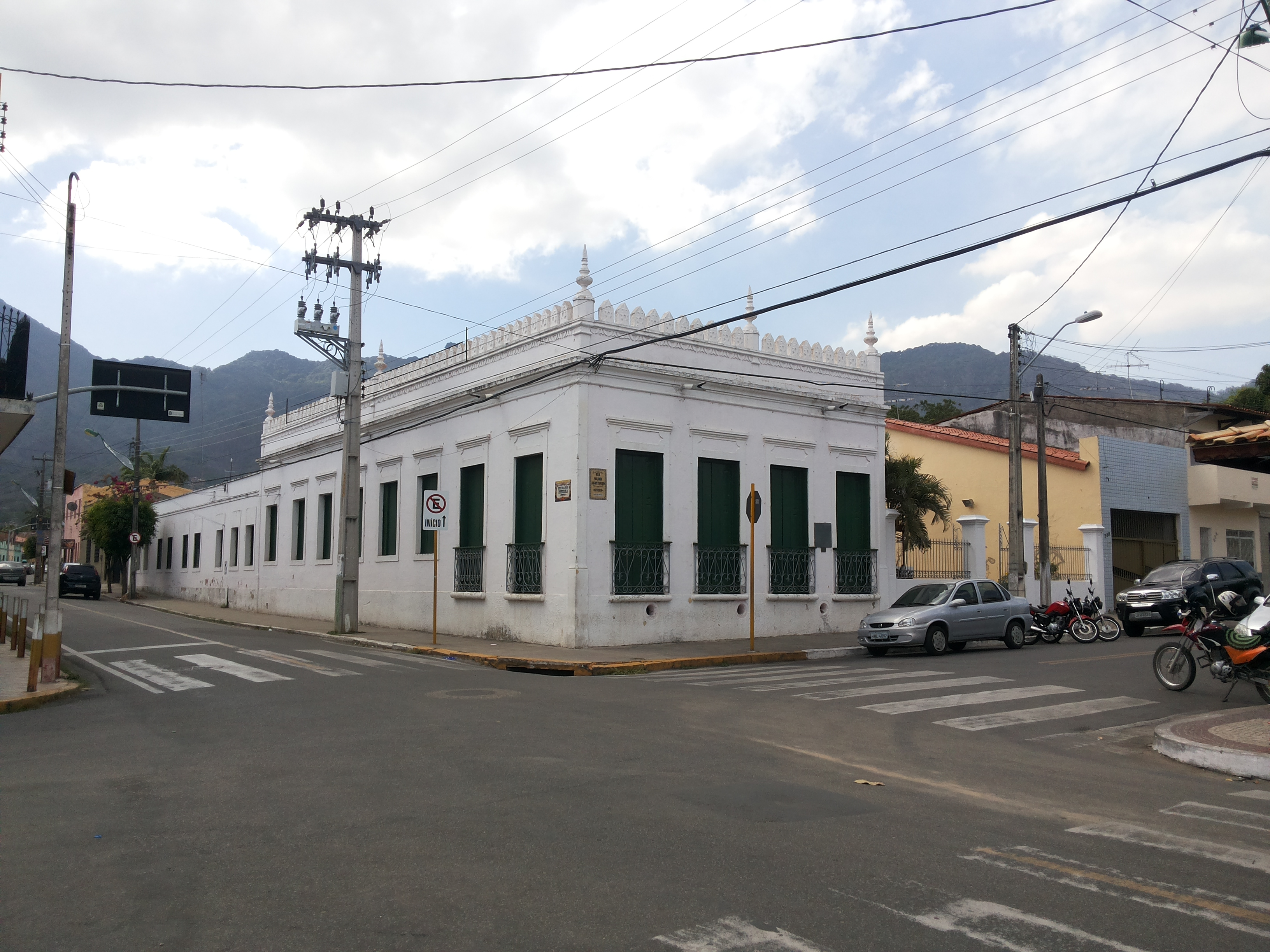 Casa de Cultura Capistrano de Abreu. Foto Dadynha Saturnino