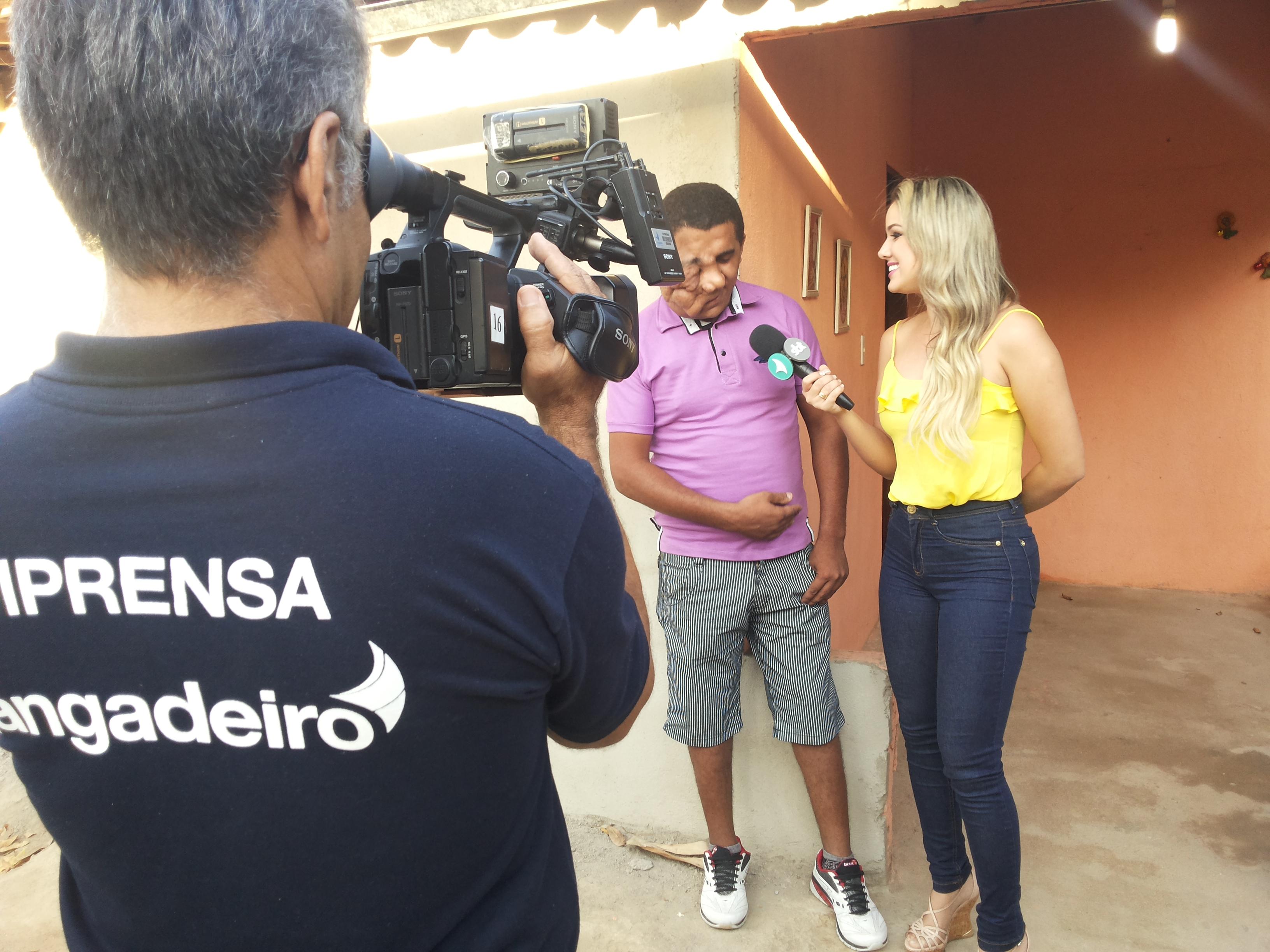 Lorrane Cabral conta a história de Erivando Braga no Gente na TV. Imagens cinematográficas de Ivanildo Bastos. Foto/Produção local Dadynha Saturnino
