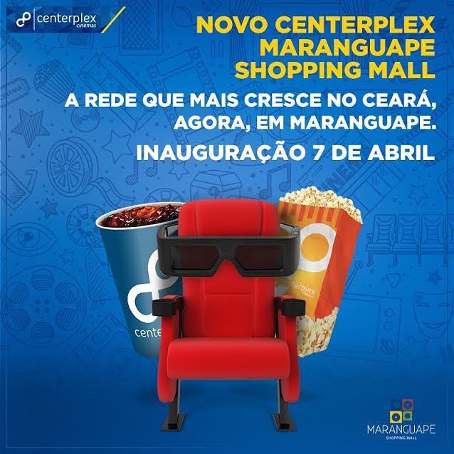 Novo Centerplex Maranguape Shopping Mall. Divulgação