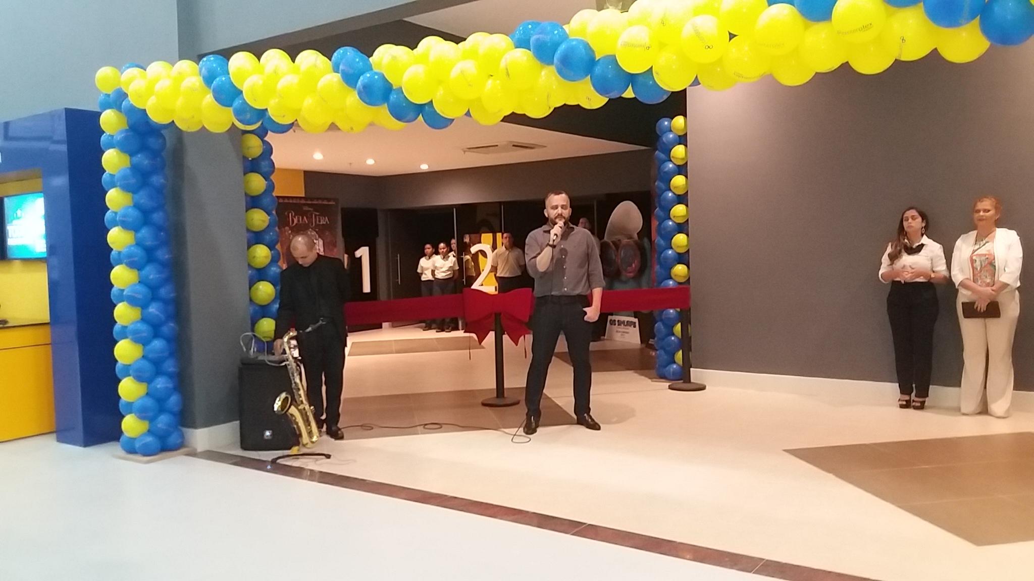 Coquetel de inauguração do Centerplex Cinemas em Maranguape-CE. Foto Dadynha Saturnino (47)
