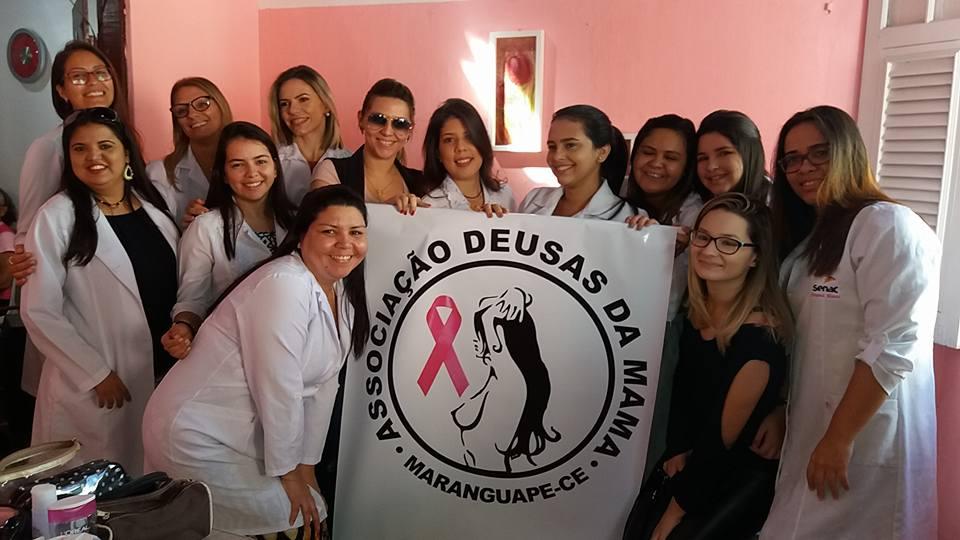 AÇÃO DE BELEZA SENAC - ASSOCIAÇÃO DEUSAS DA MAMA DE MARANGUAPE-CE. FOTO DADYNHA SATURNINO 1