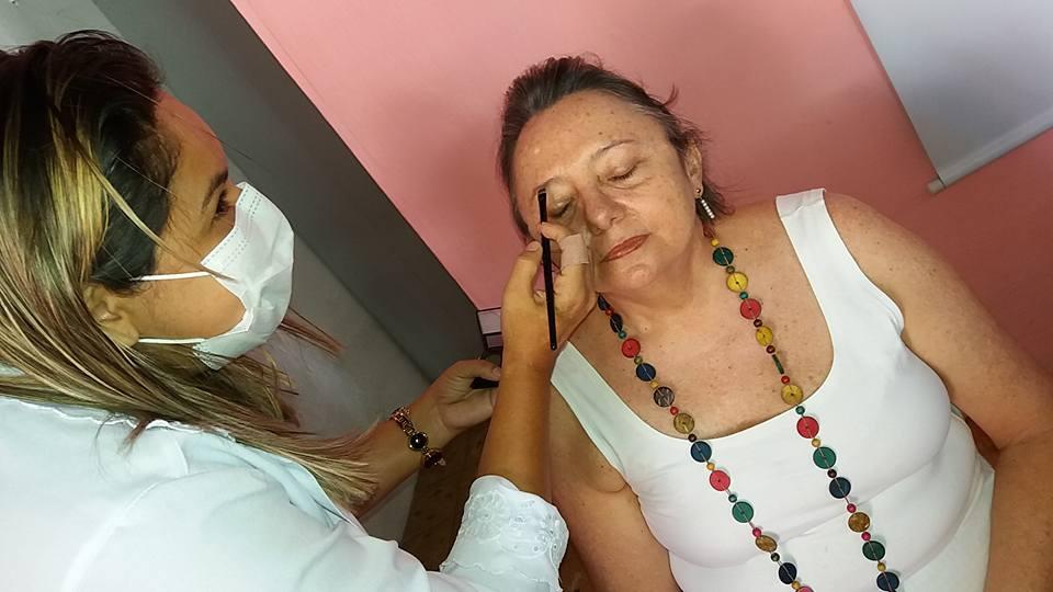 AÇÃO DE BELEZA SENAC - ASSOCIAÇÃO DEUSAS DA MAMA DE MARANGUAPE-CE. FOTO DADYNHA SATURNINO 2
