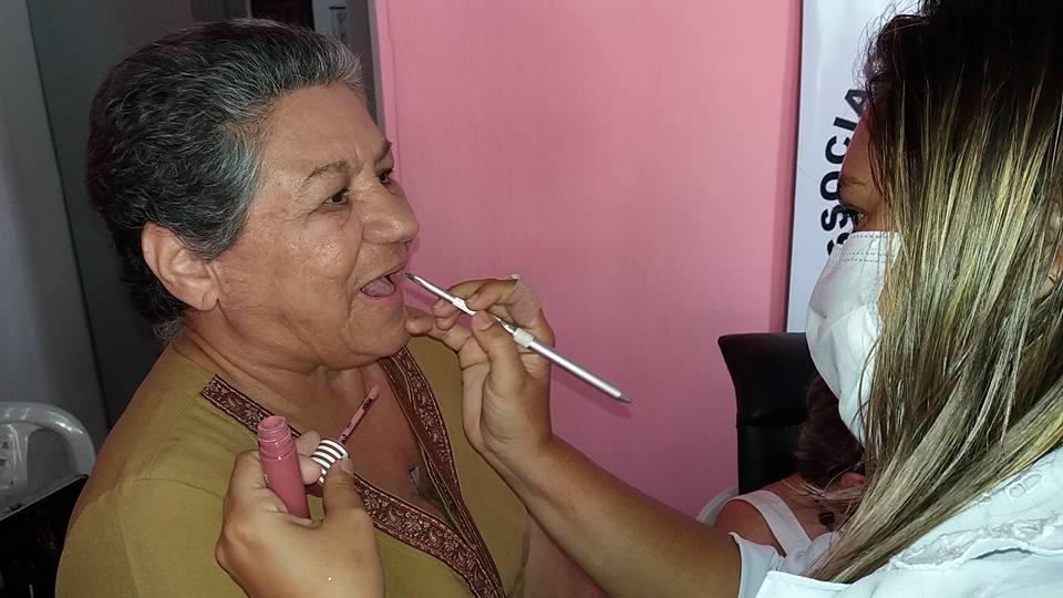 AÇÃO DE BELEZA SENAC - ASSOCIAÇÃO DEUSAS DA MAMA DE MARANGUAPE-CE. FOTO DADYNHA SATURNINO 7