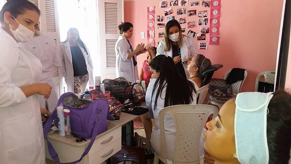 AÇÃO DE BELEZA SENAC - ASSOCIAÇÃO DEUSAS DA MAMA DE MARANGUAPE-CE. FOTO DADYNHA SATURNINO 9