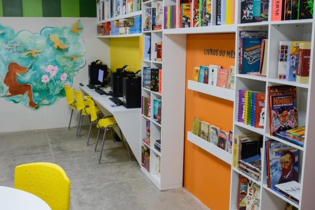 Projeto Territorio da Leitura. Maranguape. Divulgação 3