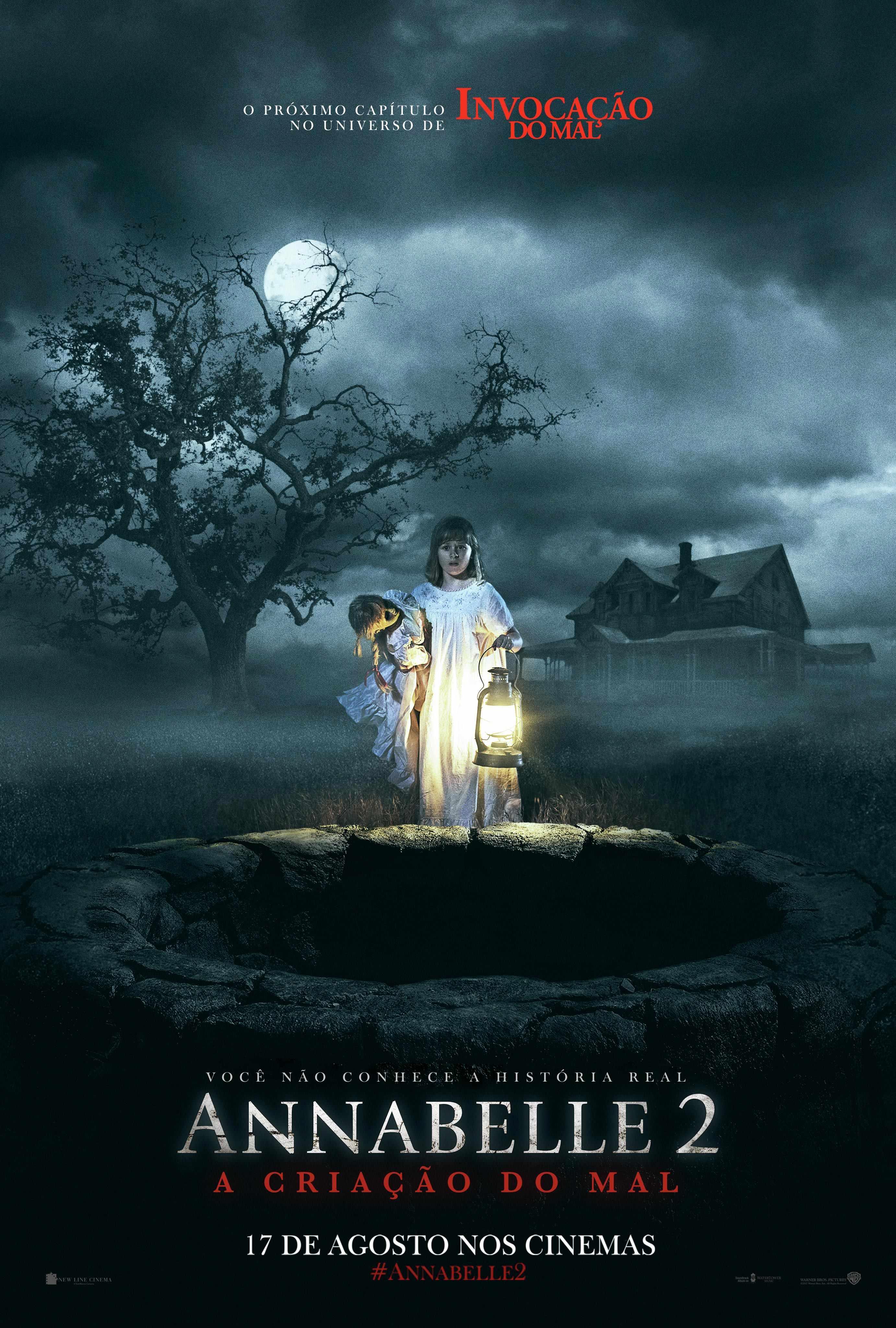 Filme Poster Annabelle 2: A Criação do Mal