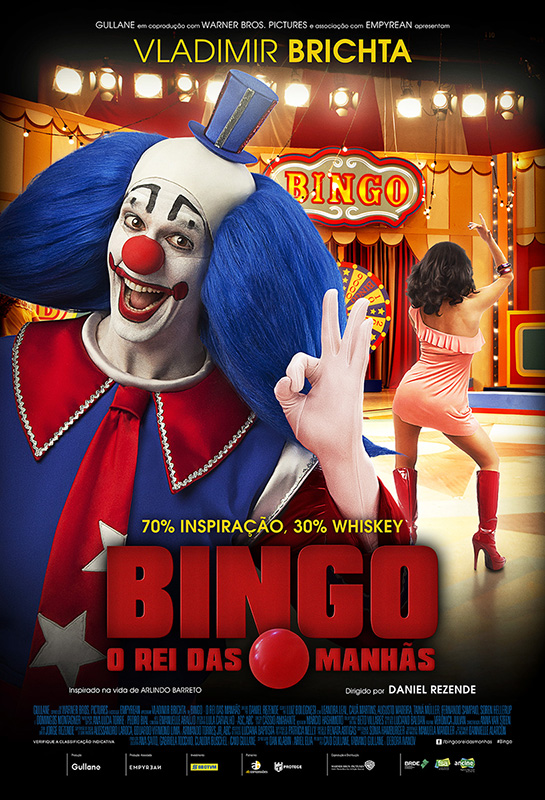 """""""Bingo: O Rei das Manhãs"""" (idem, 2017) é uma das mais eficientes produções do cinema nacional dos últimos anos."""