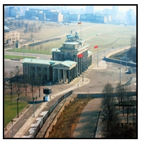 Brandenburg_Gate e o muro