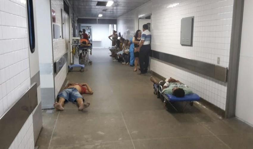 A saúde no chão: pacientes no IJF