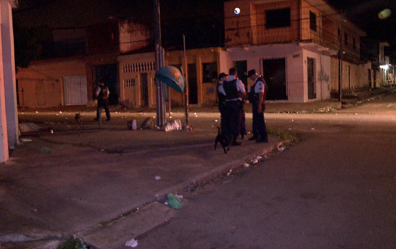 Adolescente morreu na calçada do estádio do Antônio Bezerra (FOTO: Reprodução/TV Jangadeiro)