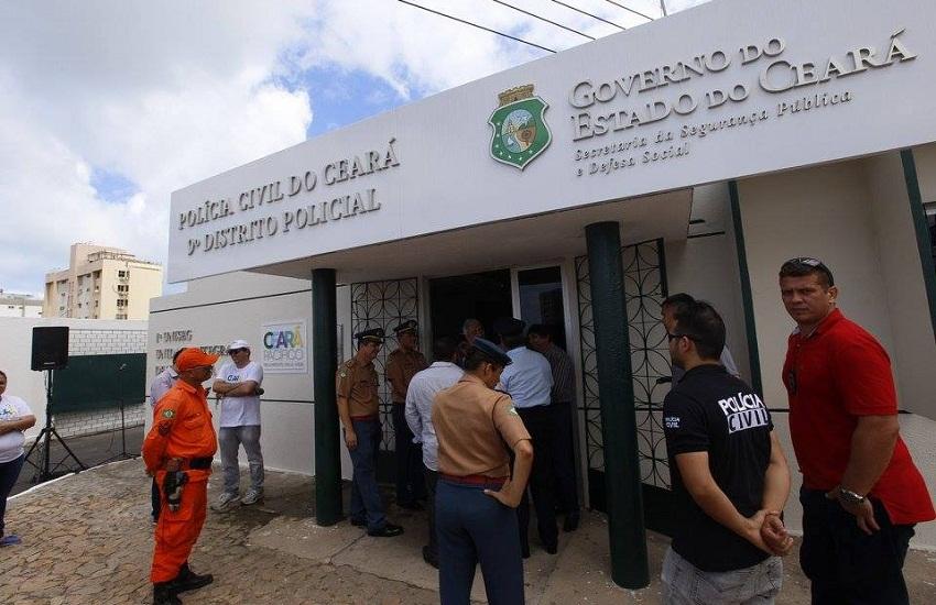 A operação foi realizada no primeiro bairro de Fortaleza a abrigar a Unidade Integrada de Segurança (Uniseg) (FOTO: Divulgação)