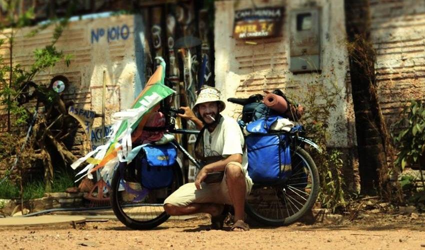 Felipe Baenninger idealizou o projeto Transite – brasileir@s e suas bicicletas (FOTO: Divulgação)