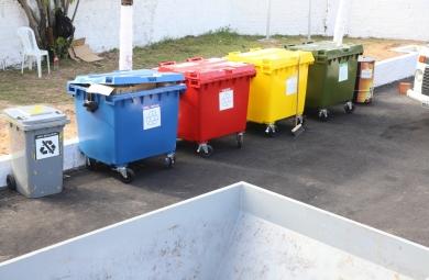 Ecopontos foram instalados em Fortaleza (FOTO: Divulgação/ Prefeitura de Fortaleza)