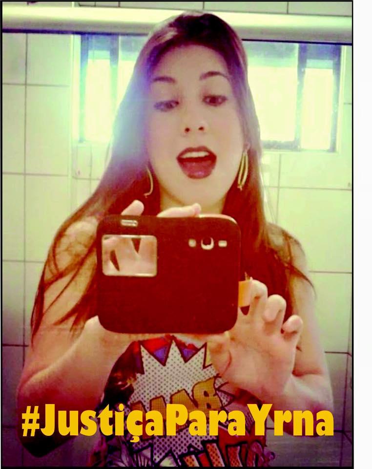 Campanha #JustiçaparaYrna já possui mais de mil seguidores (FOTO: Divulgação)