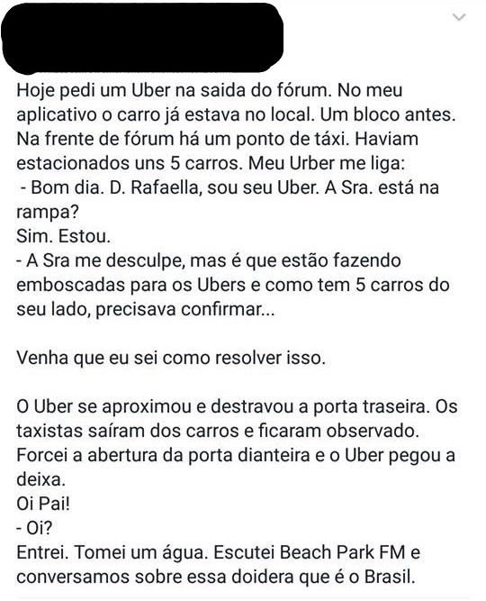 Fato aconteceu no Ceará. (FOTO: reprodução/ facebook)