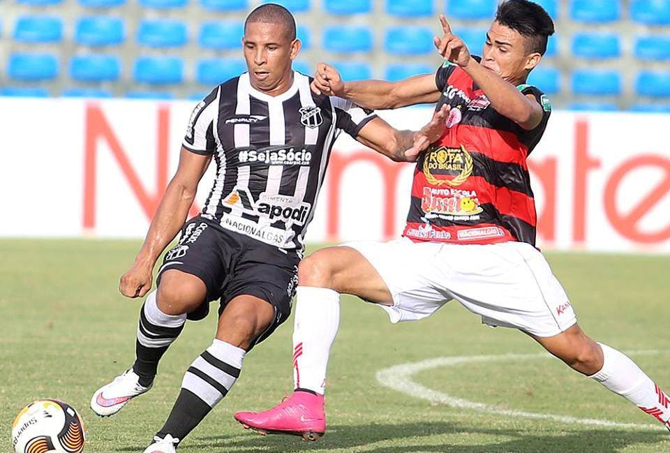 Rafael Costa fez dois gols na vitória do Vovô na última rodada da primeira fase do Cearense (FOTO: Christian Alekson/cearasc.com)