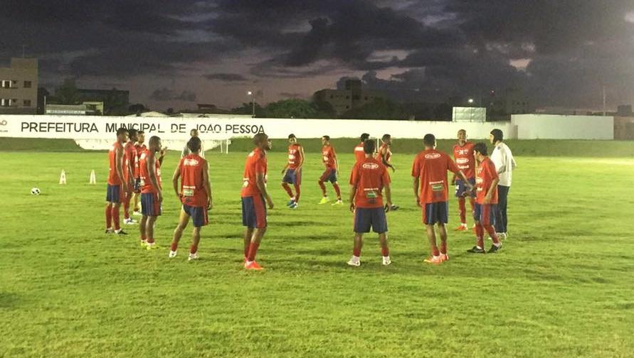 O Leão realizou o último treinamento em João Pessoa (PB) (Foto: Divulgação/Fortaleza)