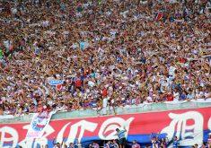 A torcida tricolor fez bonito na Copa do Nordeste (FOTO: Tribuna do Ceará/Fernanda Moura)