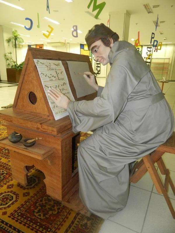 A evolução da escrita será mostrada na programação (FOTO: Divulgação)
